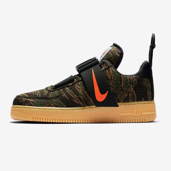SIDE VIEW NIKE X CARHARTT AIR FORCE 1 UTILITY LOW