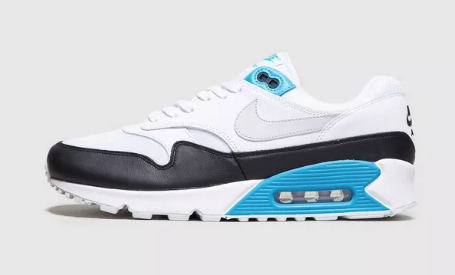 buy nike air max 90/1 in laser blue at size?