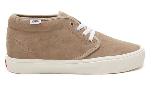 side view of vans chukka