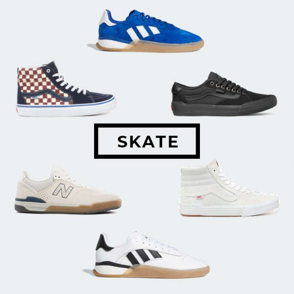 Our recommendations of 6 of the best skate shoes available today