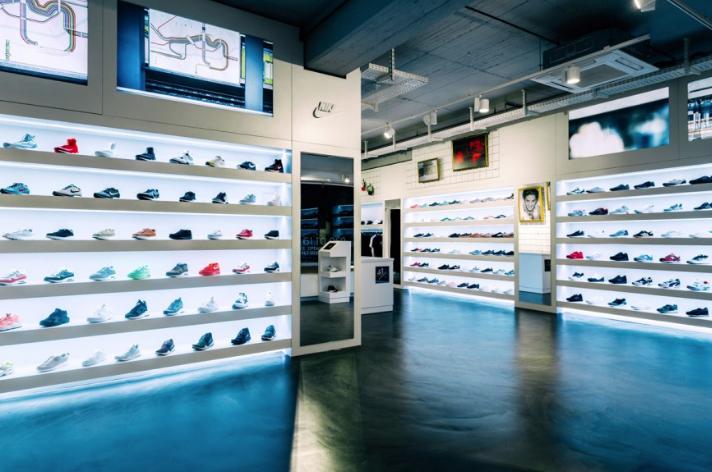 43einhalb store in Frankfurt