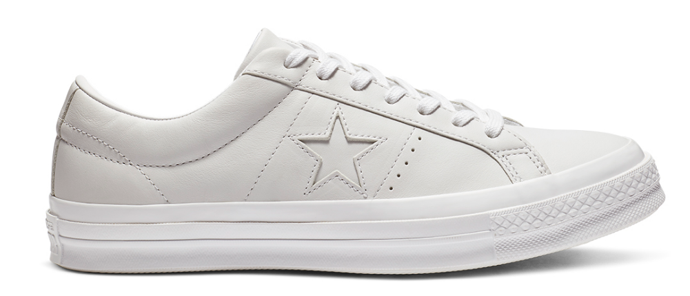 BUY CONVERSE ONE STAR WHITE LEATHER
