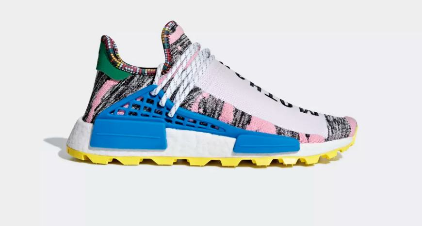 f920834e3 Pharrell Williams X adidas Solarhu NMD Afro  Red   Bright Blue ...