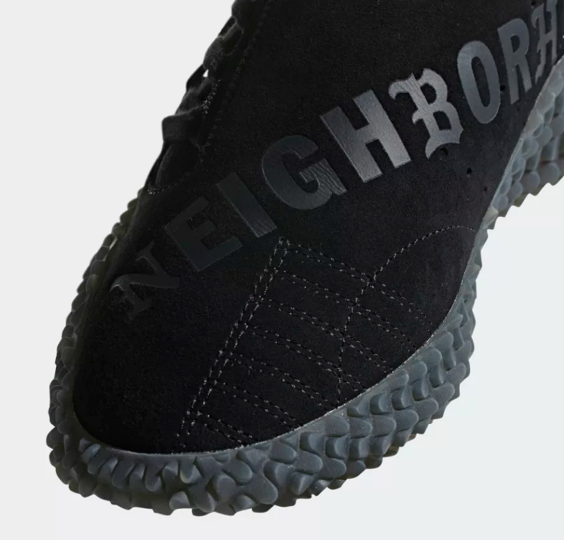 DETAILS ADIDAS ORIGINALS X NEIGHBORHOOD KAMANDA 'CORE BLACK'