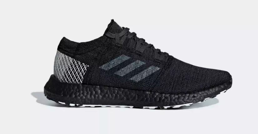 BLACK ADIDAS PUREBOOST GO LTD