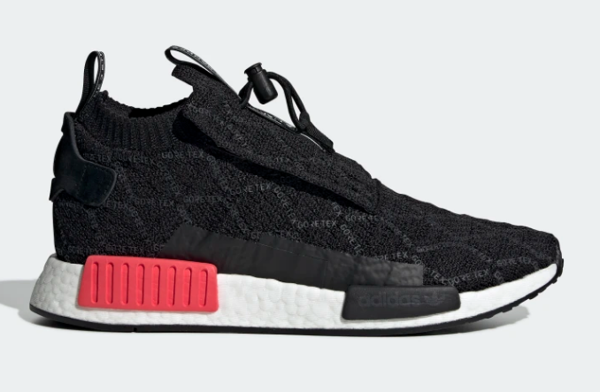 ADIDAS ORIGINALS NMD_TS1 GTX PRIMEKNIT GORETEX IN BLACK