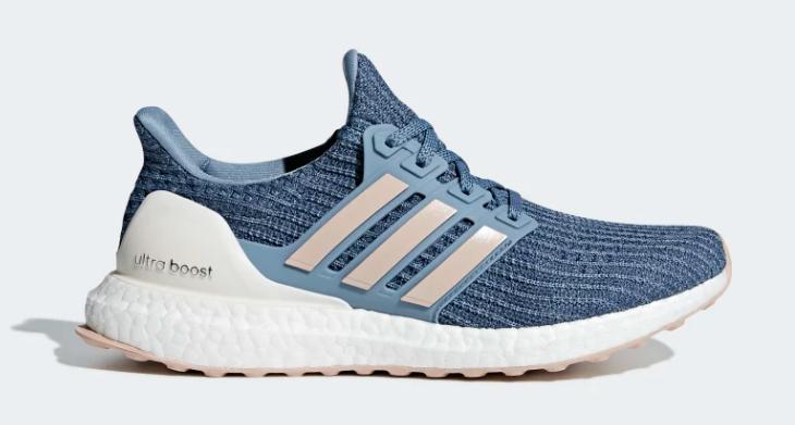 side of raw grey cloud white adidas ultra boost