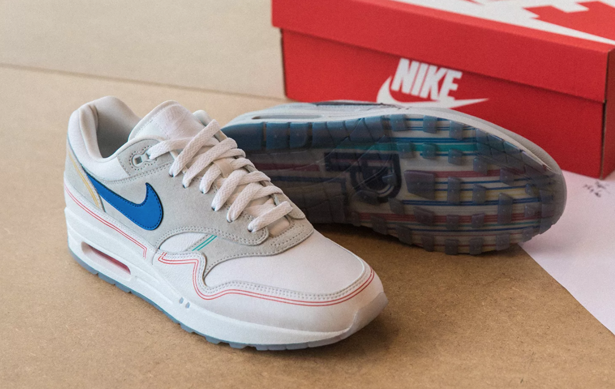 TOE VIEW NIKE AIR MAX 1 POMPIDOU 'BY DAY'