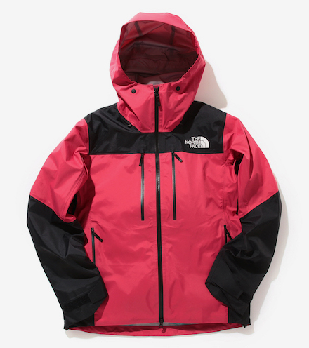 The North Face x Beams Shell Jacket  in red