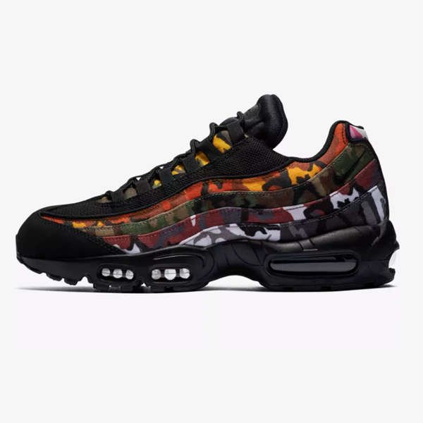side of  NIKE AIR MAX 95 OG MC SP ERDL 'BLACK'