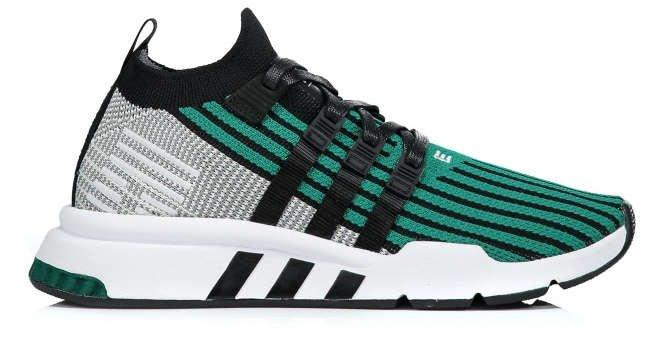 adidas eqt support mid green black