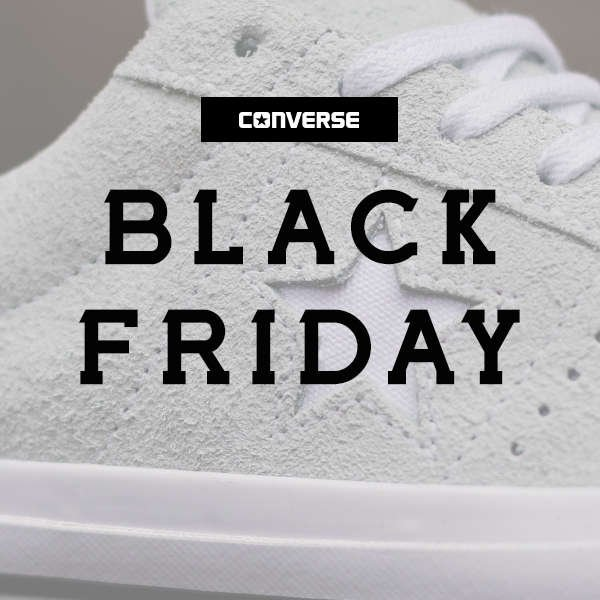 CONVERSE BLACK FRIDAY 2018