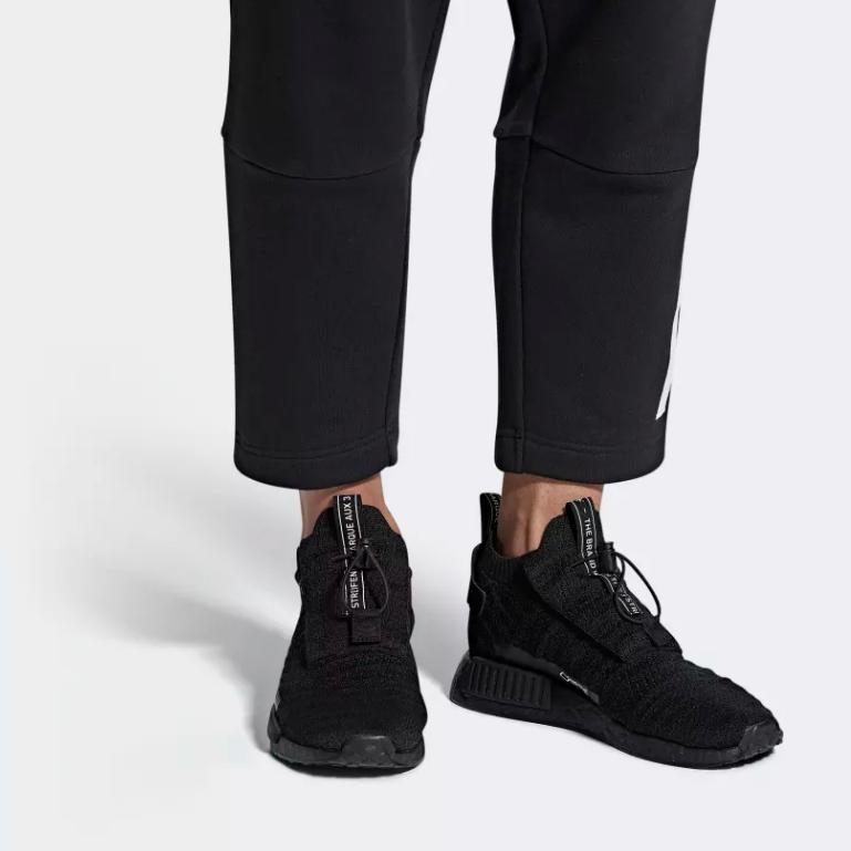 ON FOOT ADIDAS ORIGINALS NMD_TS1 PRIMEKNIT GTX CORE BLACK