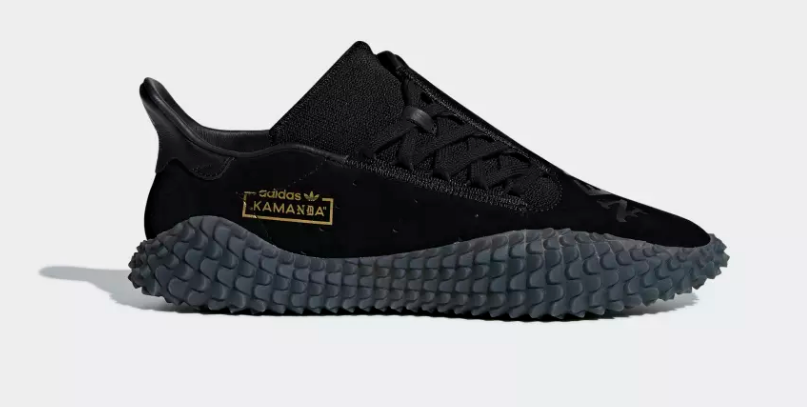 SIDE VIEW ADIDAS ORIGINALS X NEIGHBORHOOD KAMANDA 'CORE BLACK'