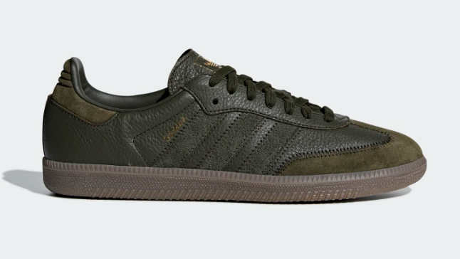 SIDE VIEW OF ADIDAS ORIGINALS SAMBA OG NIGHT CARGO