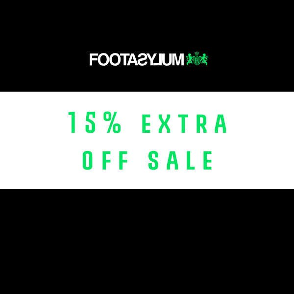 EXTRA 15% AT FOOTASYLUM NOVEMBER 2018