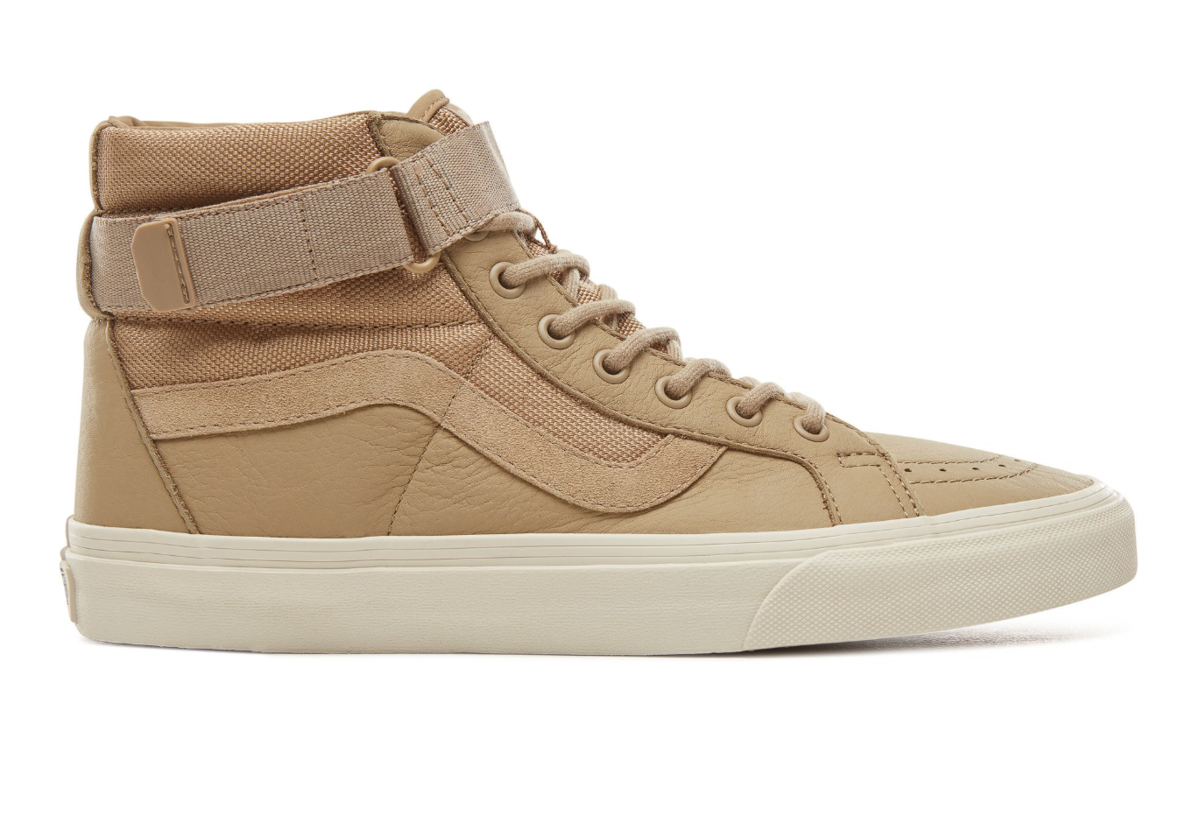 BUY LEATHER VANS SK8-HI HIGH IN CORNSTALK