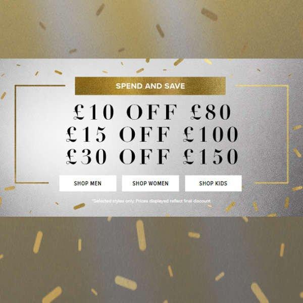 SAVE UP TO £30 AT NEW BALANCE