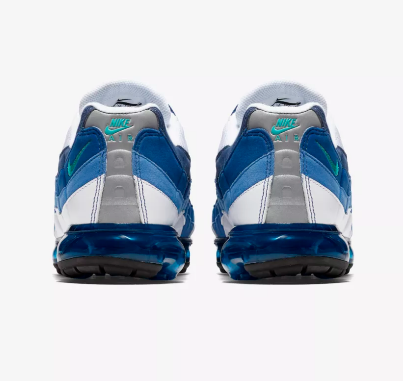 HEEL OF NIKE AIR VAPORMAX 95 'FRENCH BLUE'