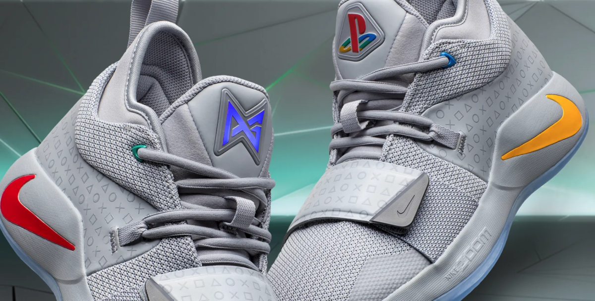 details of the nike pg2.5 playstation