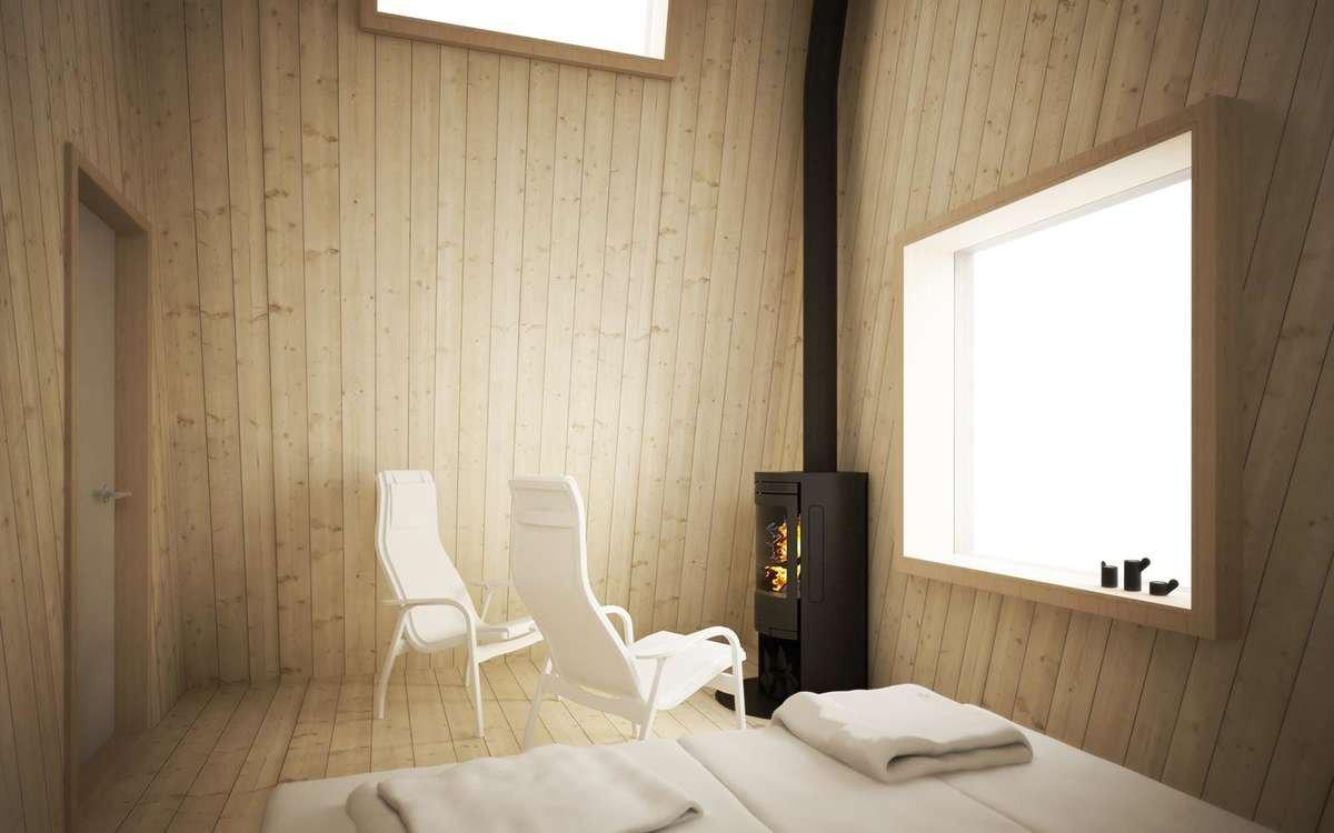 habitaciones del Arctic Bath Hotel en Suecia