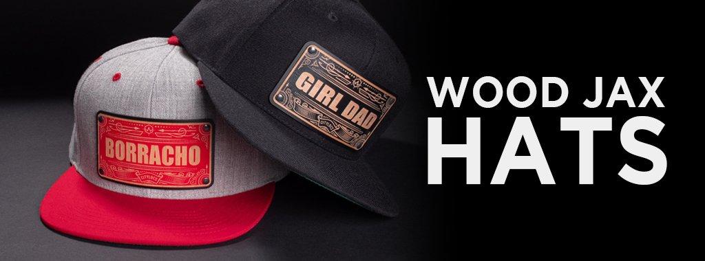 Wood Jax Custom Hats