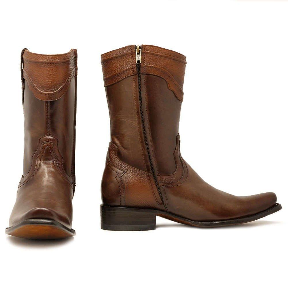 Mens western cowboy boots zipper