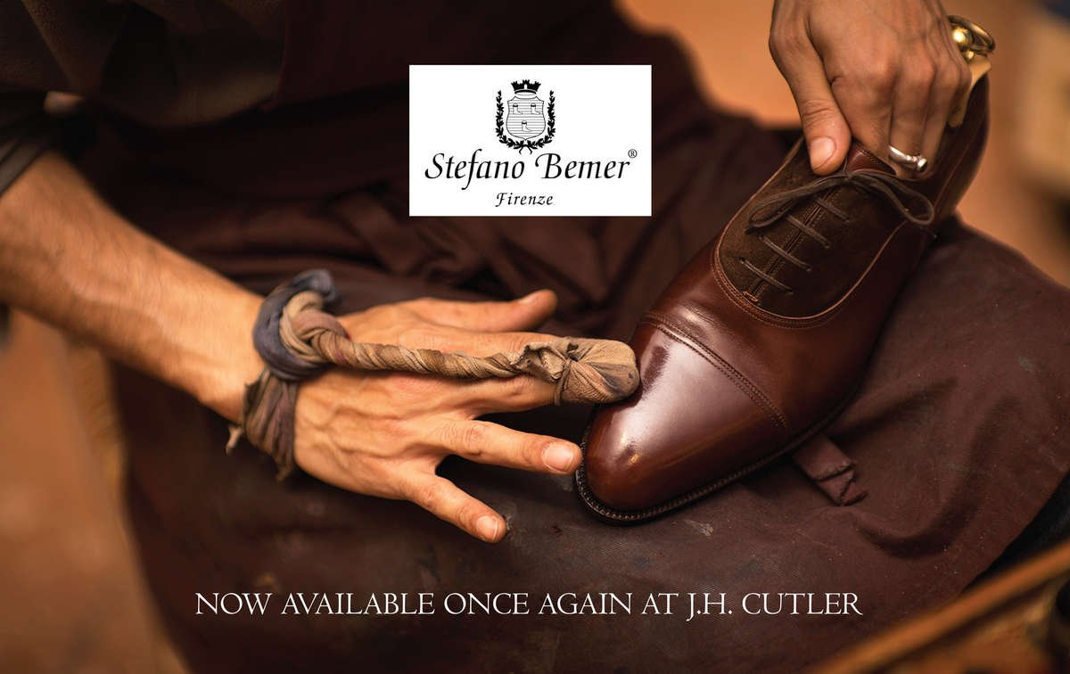 STEFANO BEMER NOW AVAILABLE ONCE AGAIN AT J H  CUTLER – J H  Cutler