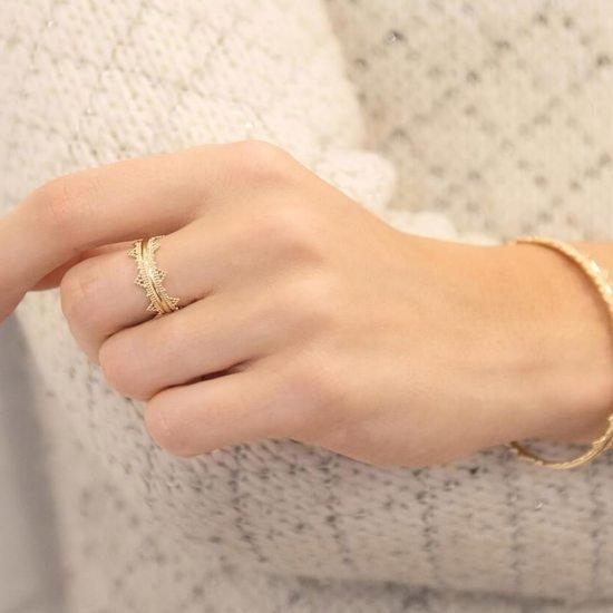 Personalised Crown Ring, Merci Maman