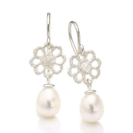 Jettchen Silver Earrings, Brigitte Adolph Jewellery Design