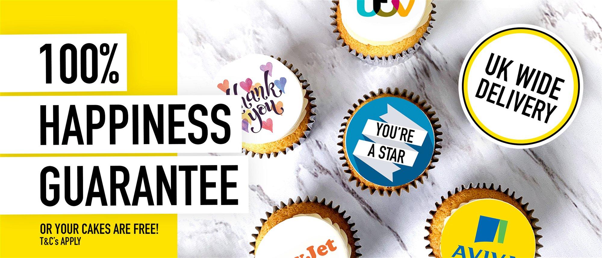 logo cupcakes delivered uk