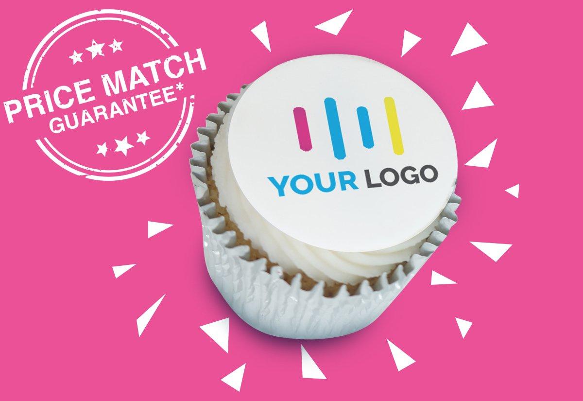 Branded Logo Cupcakes