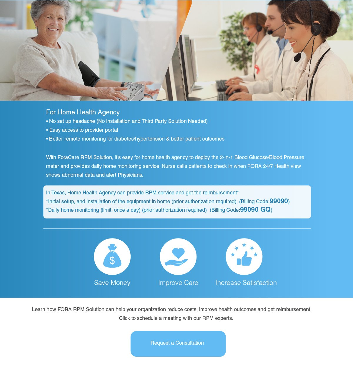Home Health Agency RPM solution