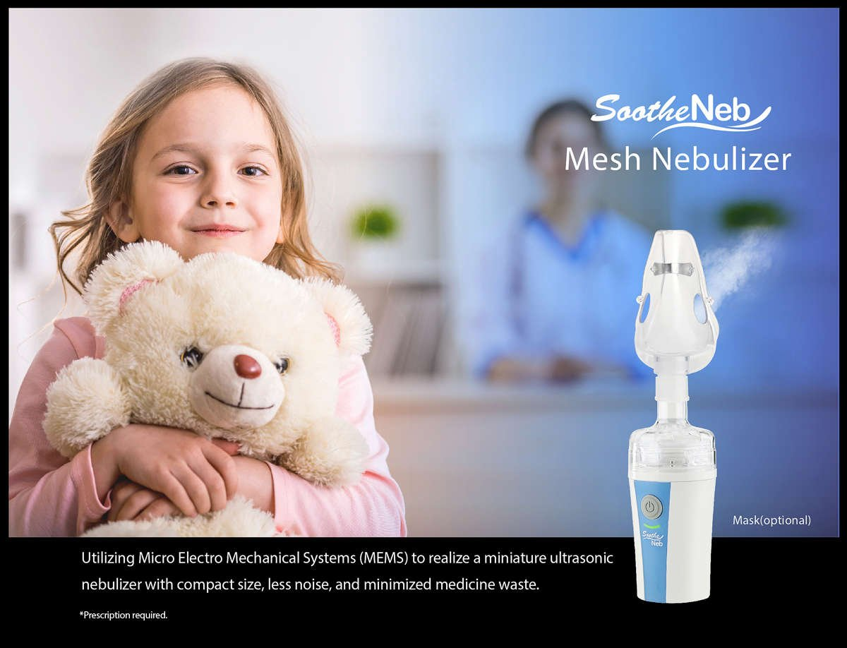 Mesh Portable Nebulizer