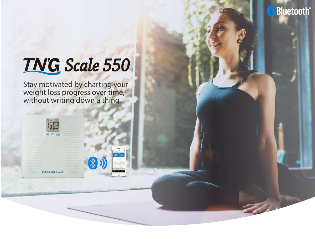 8d1eba8c40bc FORA TN'G W550 Bluetooth Weight Scale with Talking Function
