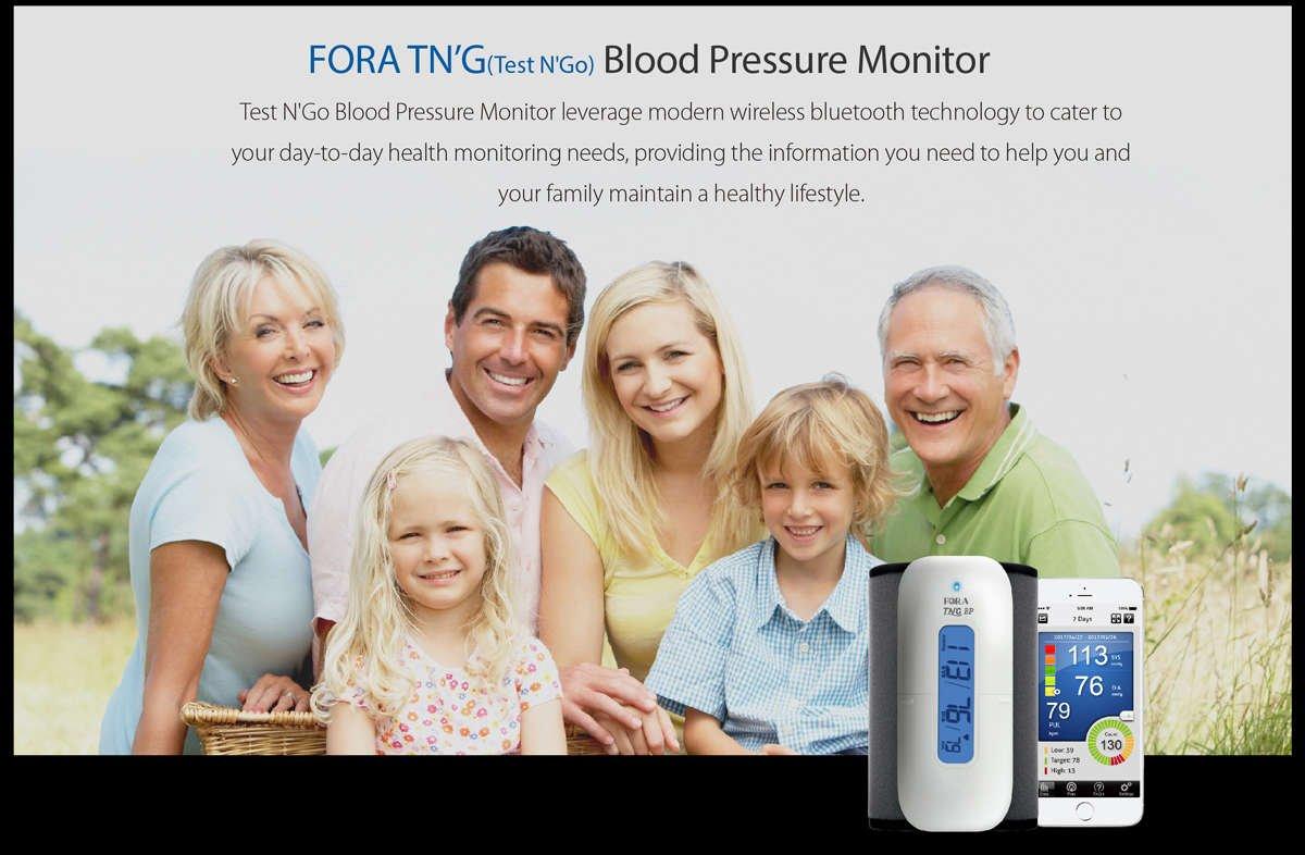 bluetooth wireless blood pressure monitor