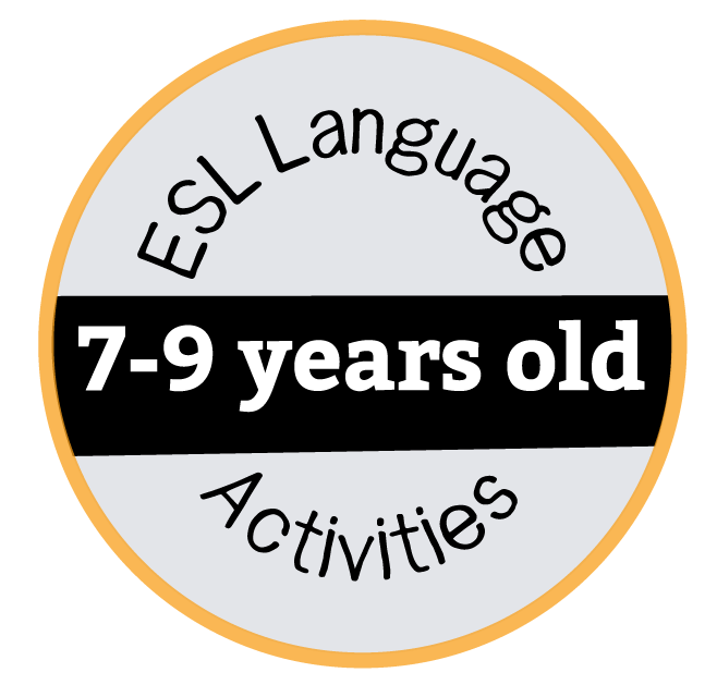 ESL Activities 7-9 Years Old