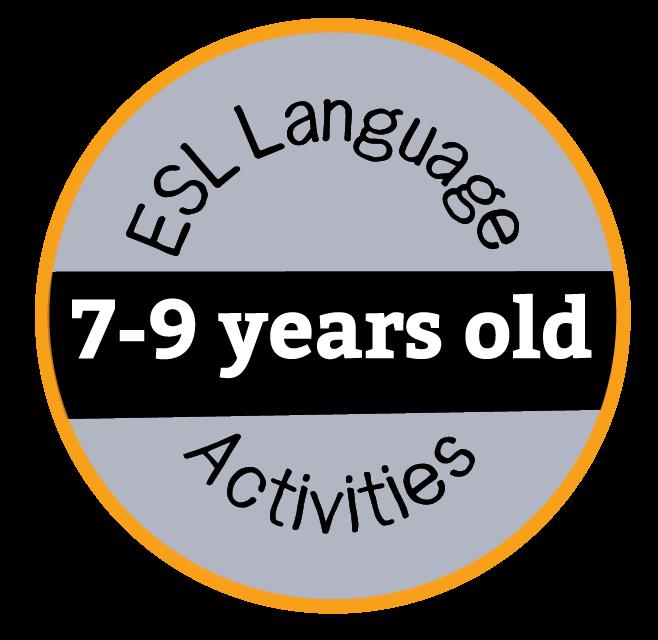 ESL Activities 7-9 Years Old