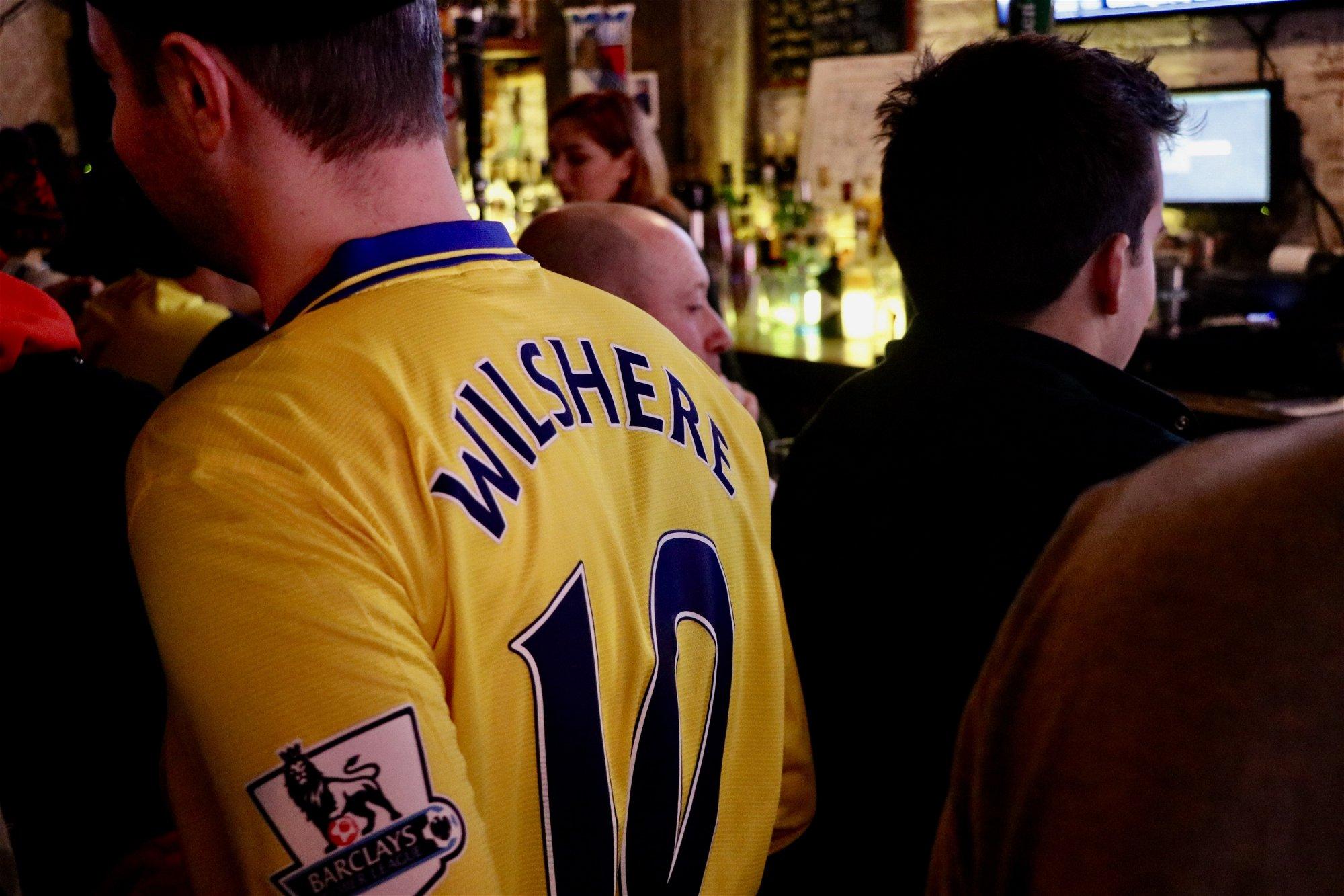 Jack Wilshere Arsenal Kit