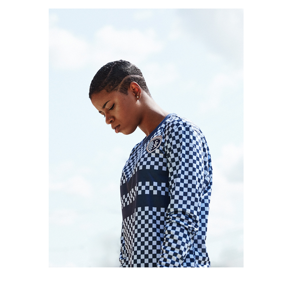 The checkered long sleeve for SKCxLBF