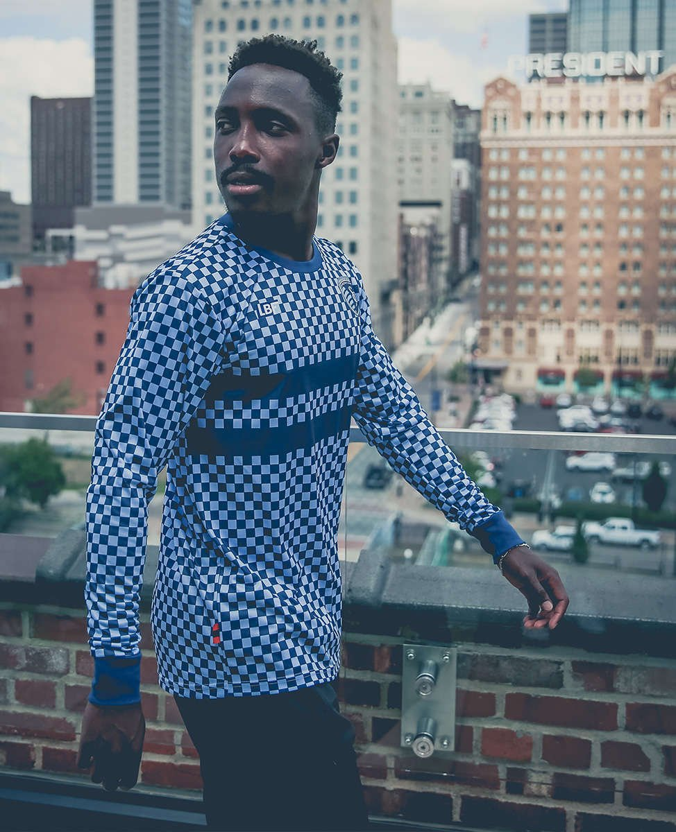 Gerso rocks the checkered jersey for SKCxLBF