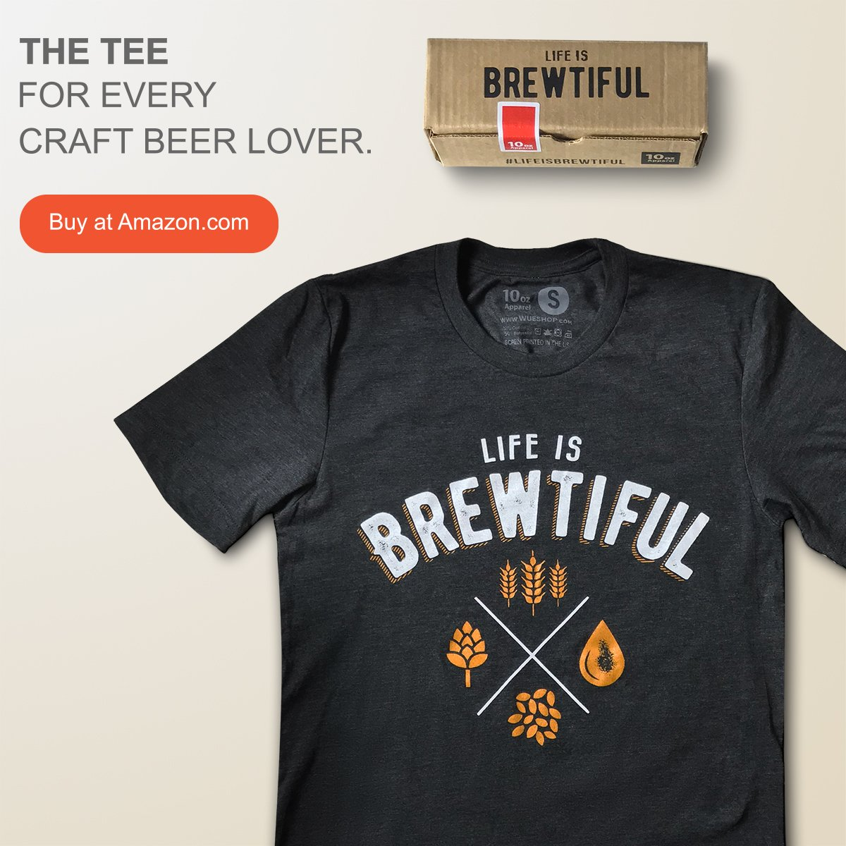 life is brewtiful tshirt set