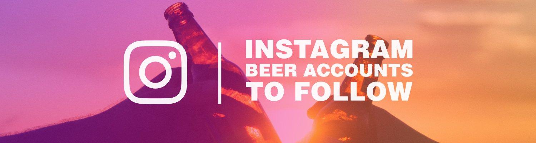 Instagram beer accounts to follow