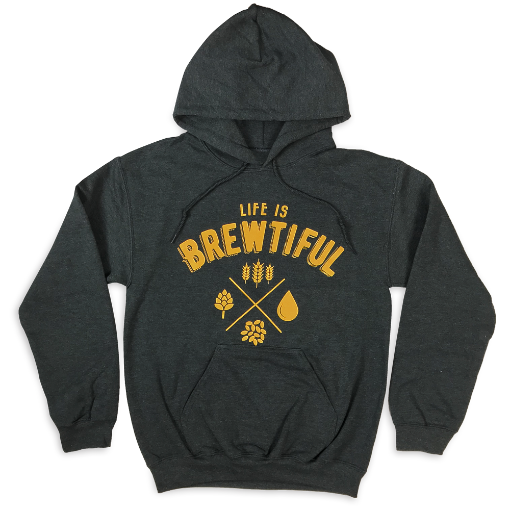 life is brewtiful hoodie