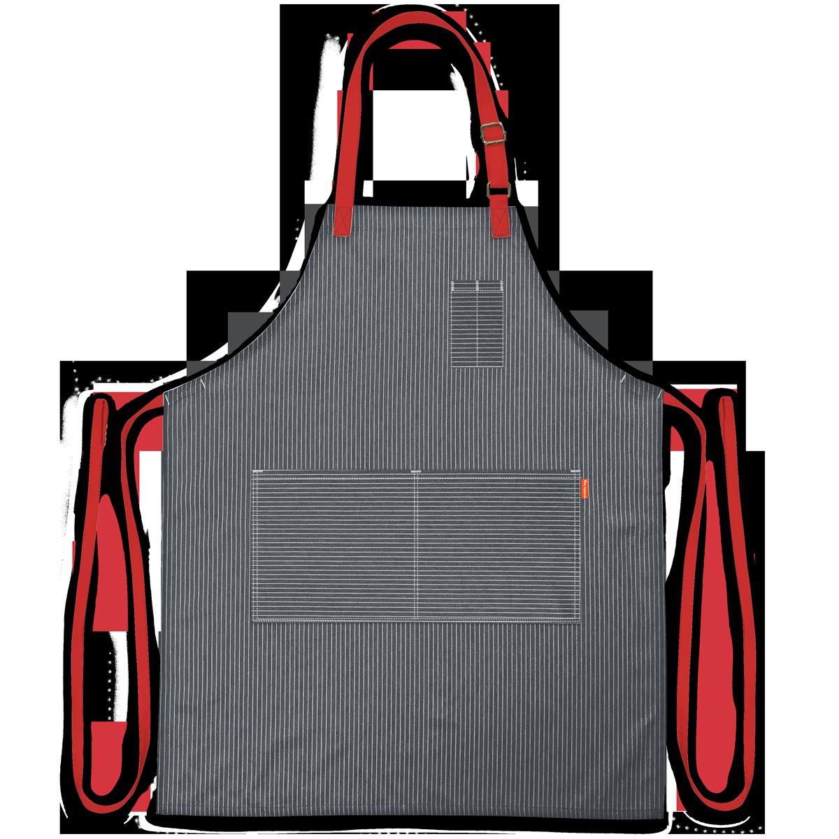 10oz apparel crossbar chef apron