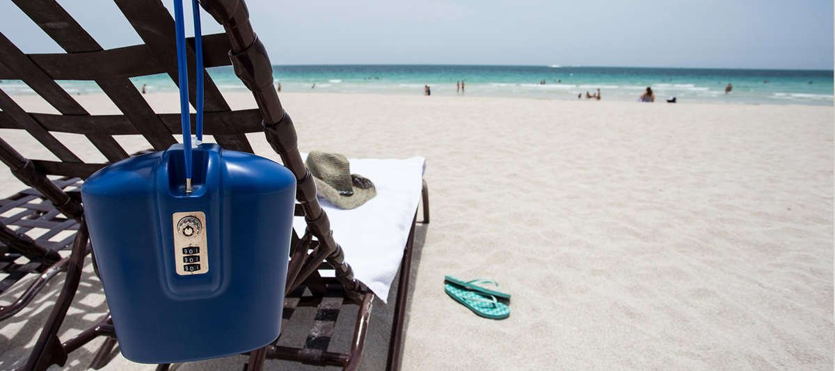 Anti Theft Travel Safe For Hotel Beaches And Pools
