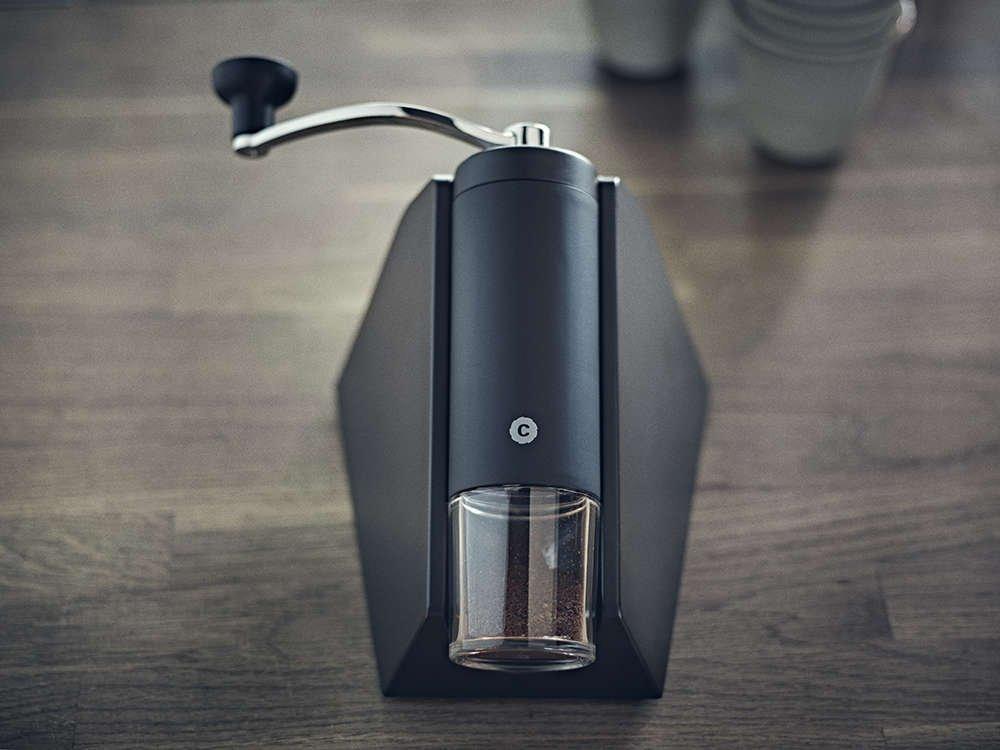 Manual Burr Coffee Grinder - Brazil by CrushGrind