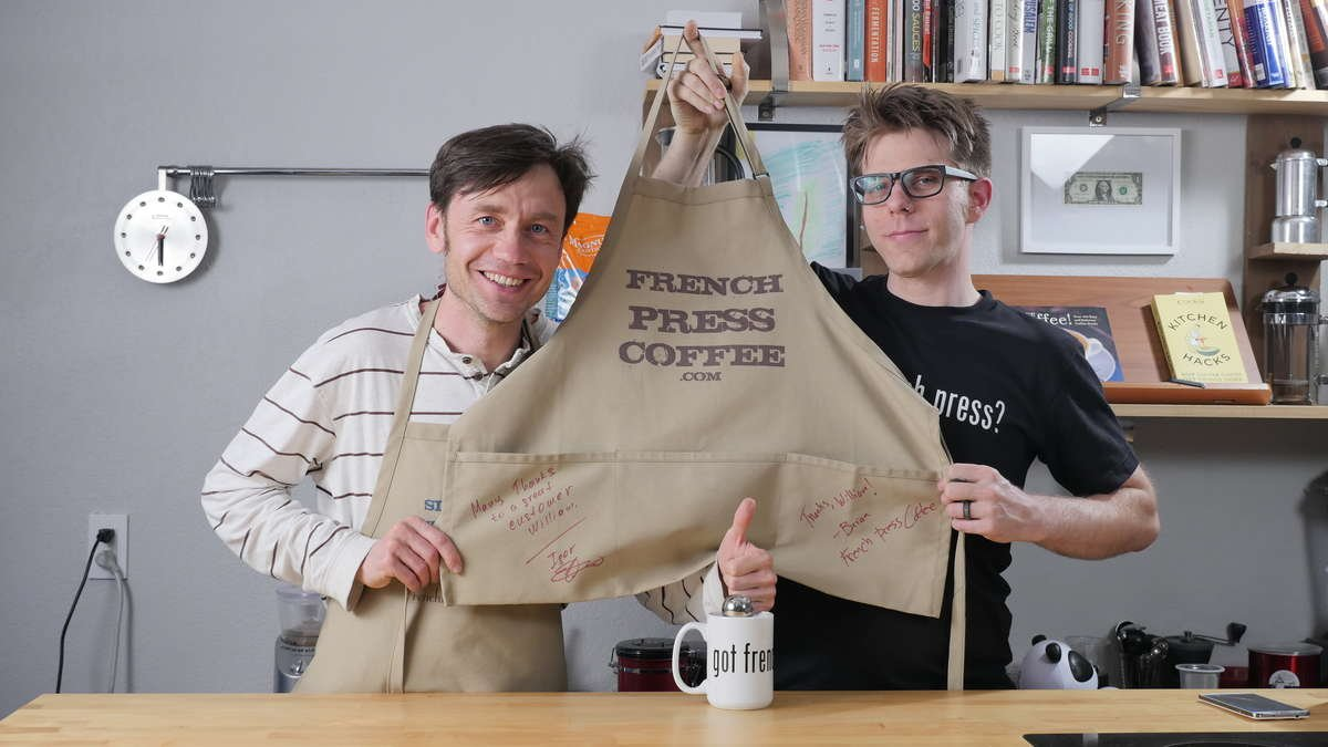 We love our customers - FrenchPressCoffee.com
