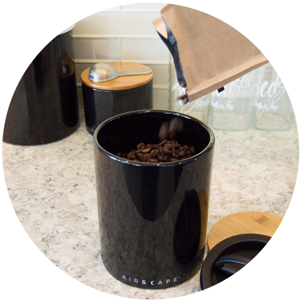 Airscape Ceramic Coffee Storage