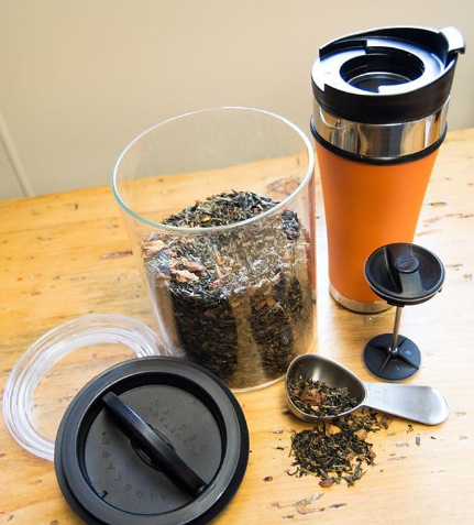 French Press - Steeping Loose Leaf Tea